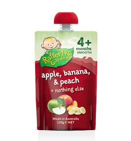 Rafferty's – Apple, Banana & Peach Smooth Baby Food