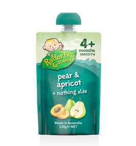 Rafferty's – Pear & Apricot Smooth Baby Food