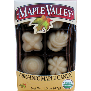 Maple Valley – Organic Maple Candy 6 Piece Box