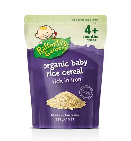 Rafferty's – Organic Baby Rice Cereal